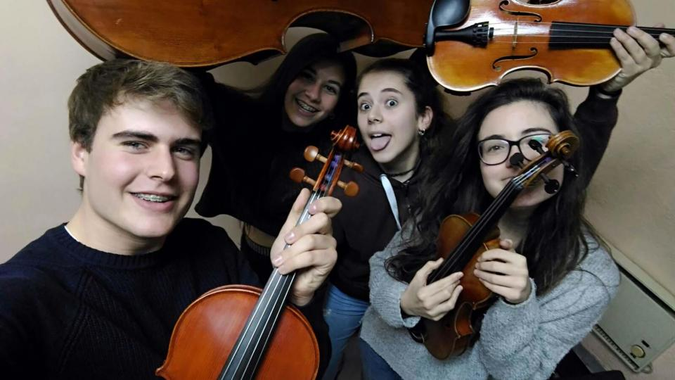 Música clàssica a càrrec del Quartet 012 - Clariana