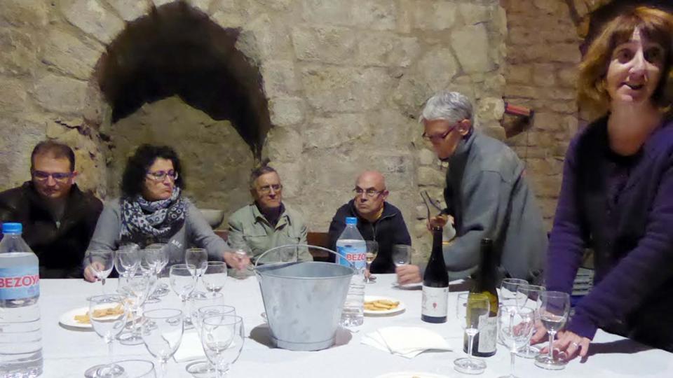 Tast de vins amb Míriam Chivite