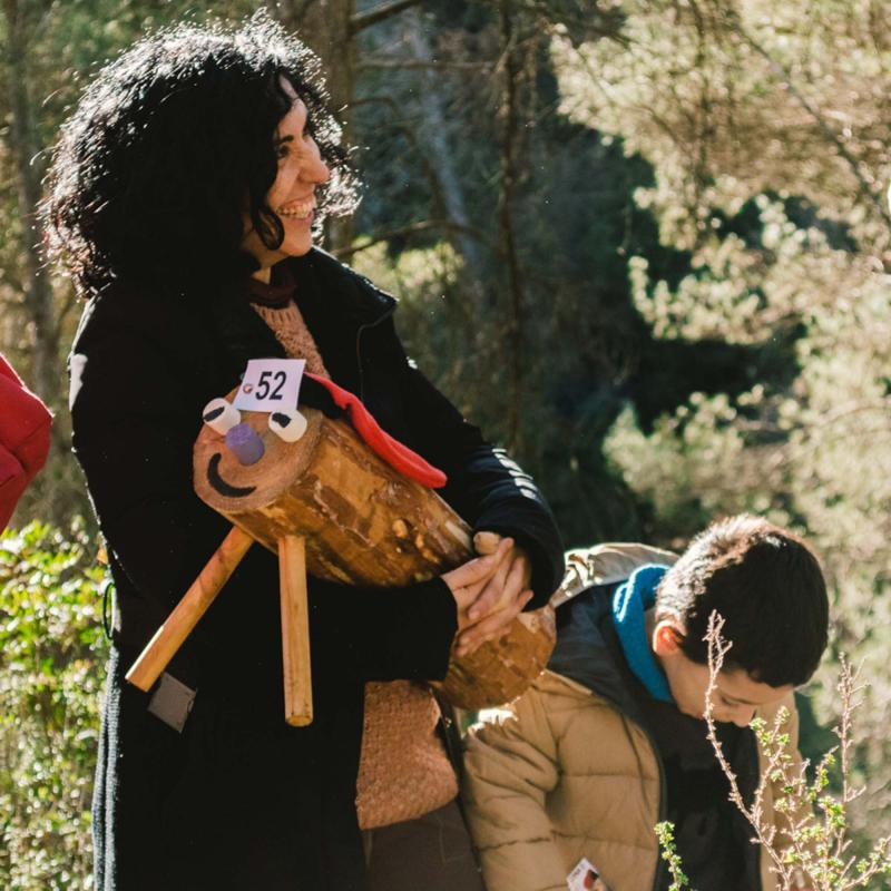 10.12.2016 la màgia de trobar el tió  Clariana -  Mariona Miquel