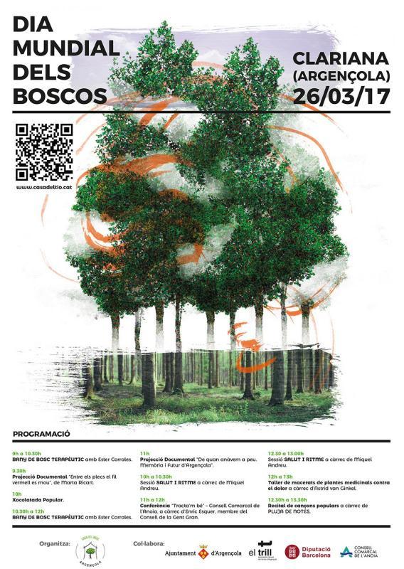 cartell Dia Mundial dels Boscos 2017 - Clariana