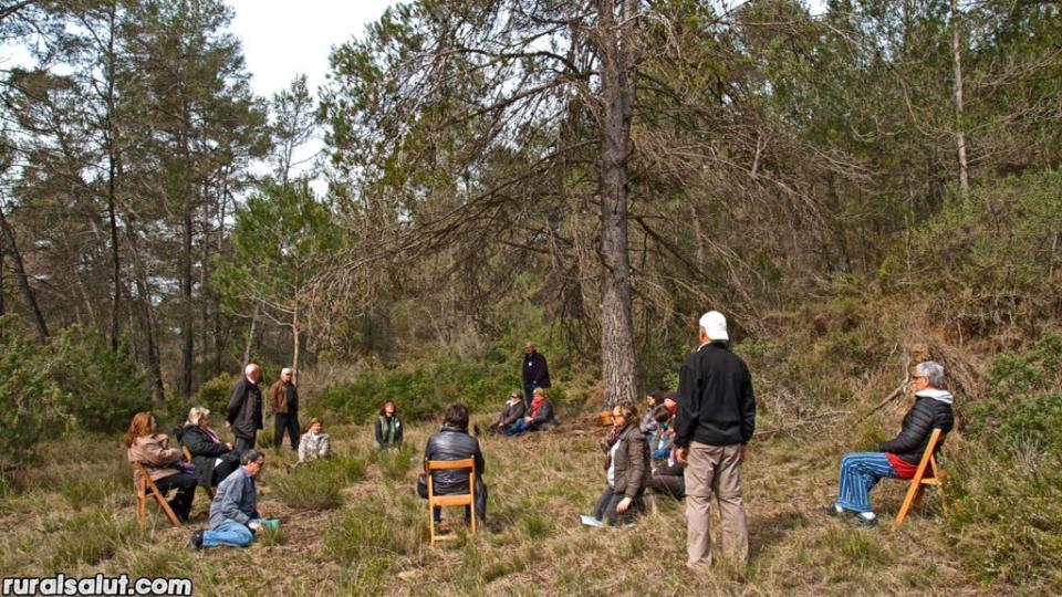 26.03.2017 Bany de Bosc Terapèutic amb Ester Corrales  Clariana -  Rural Salut