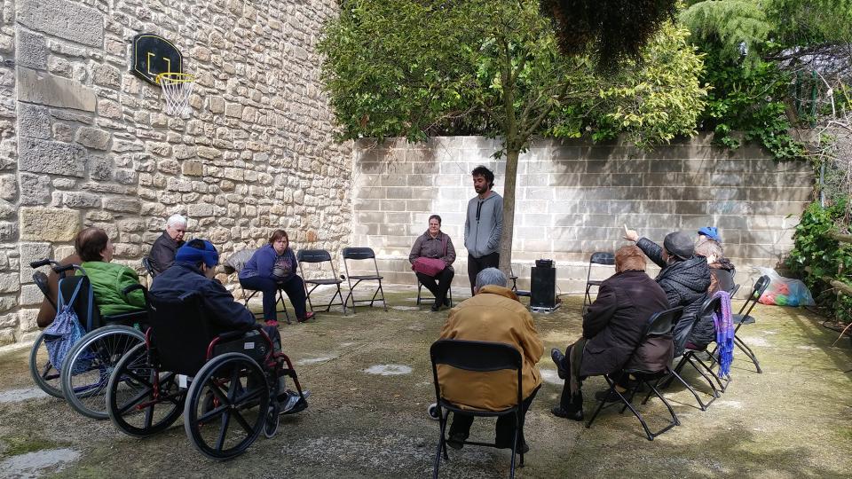 26.03.2017 Sessió Salut i Ritme a càrrec de Miquel Andreu  Clariana -  Marina Berenguer