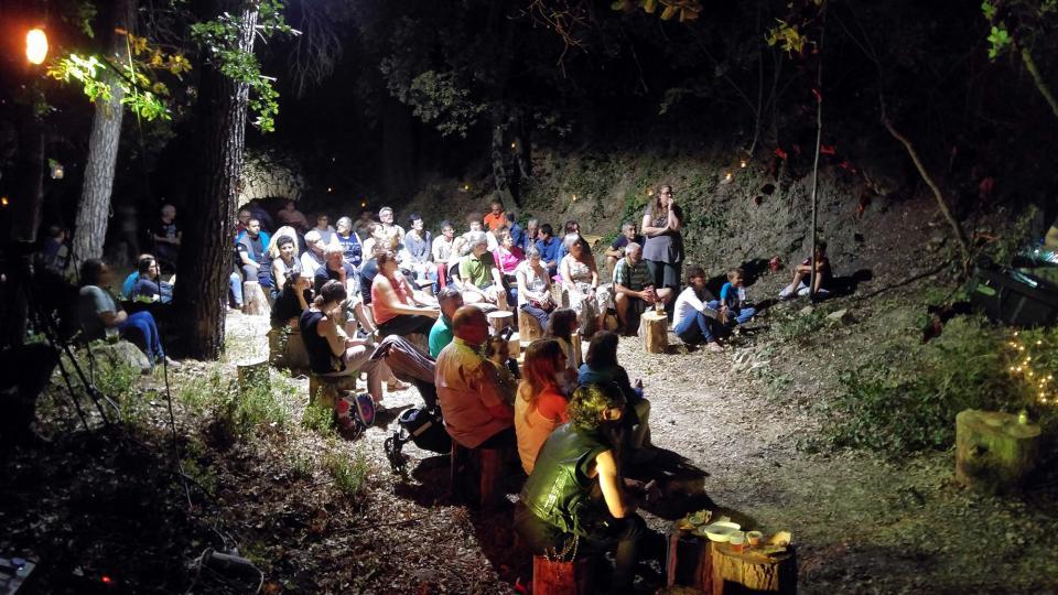 Concert de Quico Tretze al bosc de Clariana