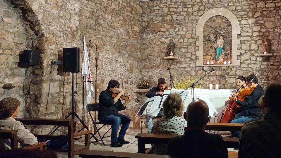 23.09.2017 Concert del Quartet Altimira  Clariana -  Marina Berenguer