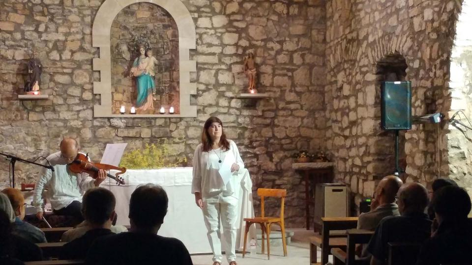 23.09.2017 Concert de Maria Santfores i Josep Massana  Clariana -  Marina Berenguer