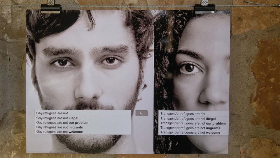 23.09.2017 Exposició de fotografies 'Posa't al seu lloc' de Dan Ortínez i Bernat Enrich  Clariana -  Martí Garrancho