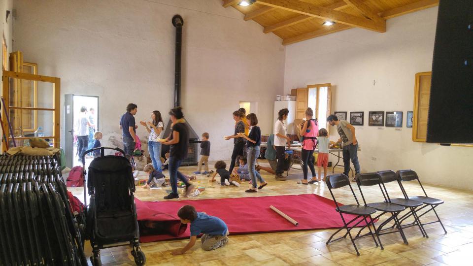 23.09.2017 preparatius  Clariana -  Martí Garrancho