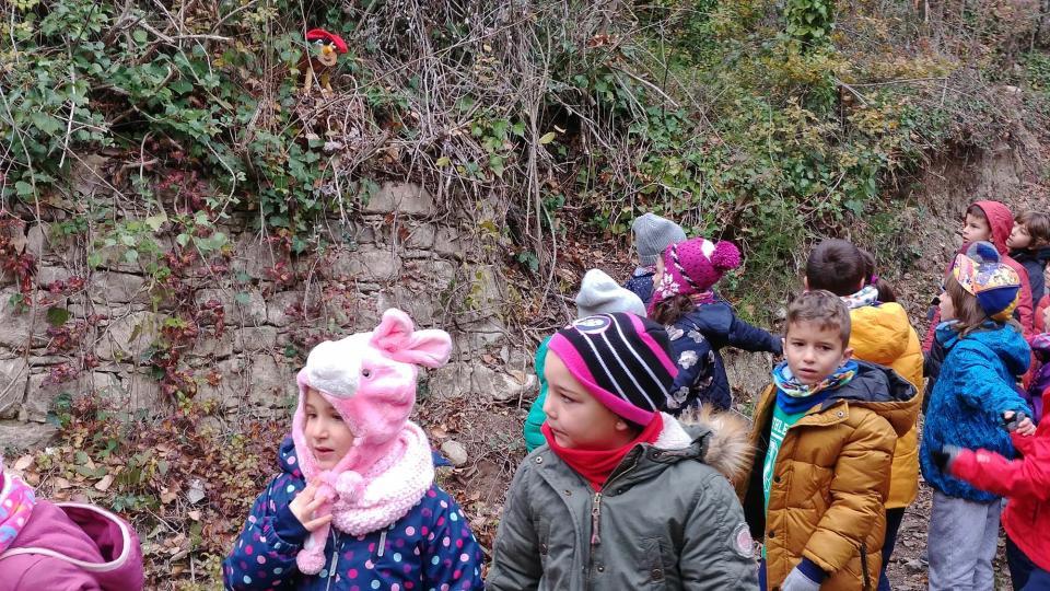 Visita de l'Escola Taquígraf Garriga
