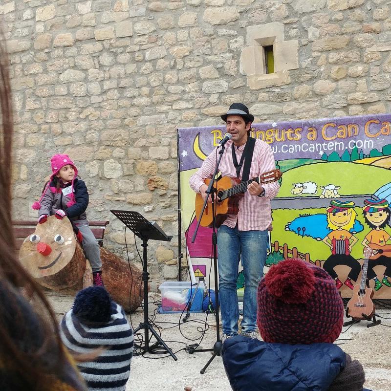 Festa del tió d'Argençola 2017