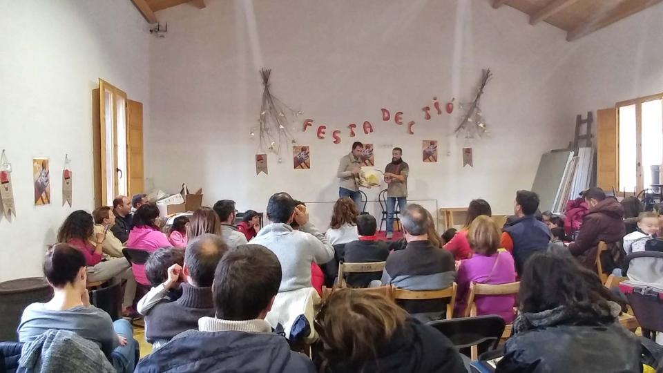 Festa del tió d'Argençola 2017 - Clariana