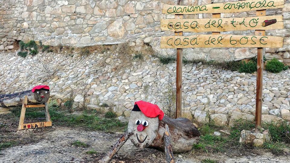 08.12.2018 Els tions donen la rebuda als visitants  Clariana -  Martí Garrancho