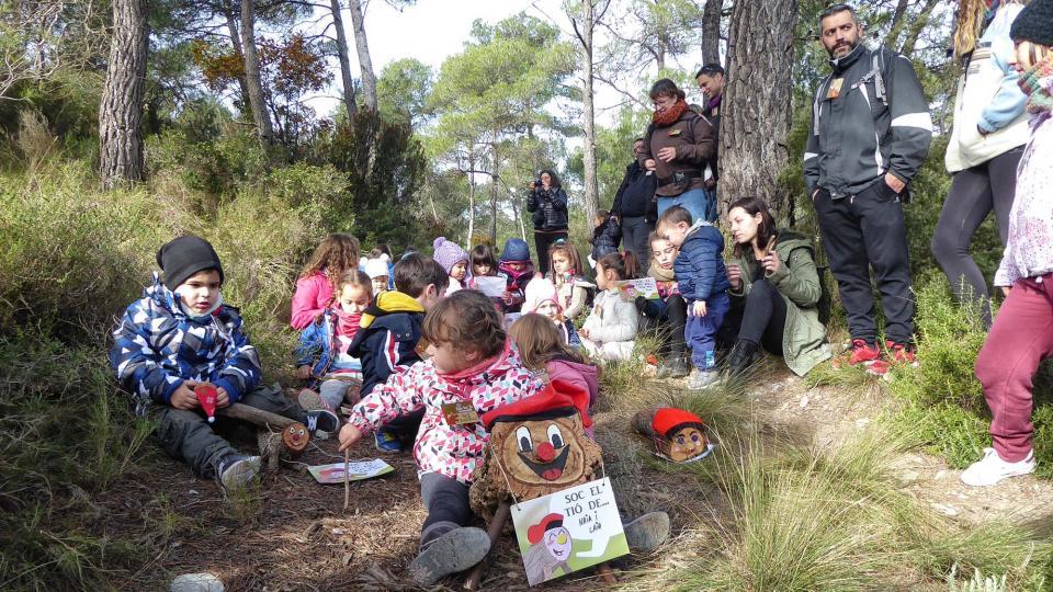 La festa del tió i l'Associació Casa del tió – Casa del Bosc d'Argençola, impulsades per l'Ajuntament - Clariana