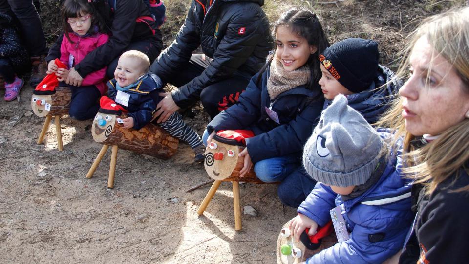 Clariana celebra la 8a Festa del Tió
