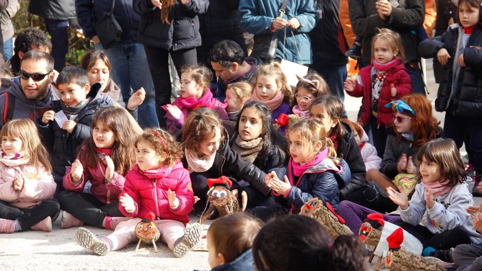 Jordi Giralt animant la festa