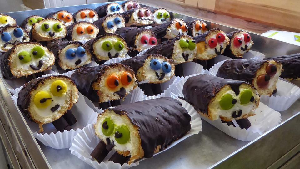 Tionets de xocolata i nata - Clariana