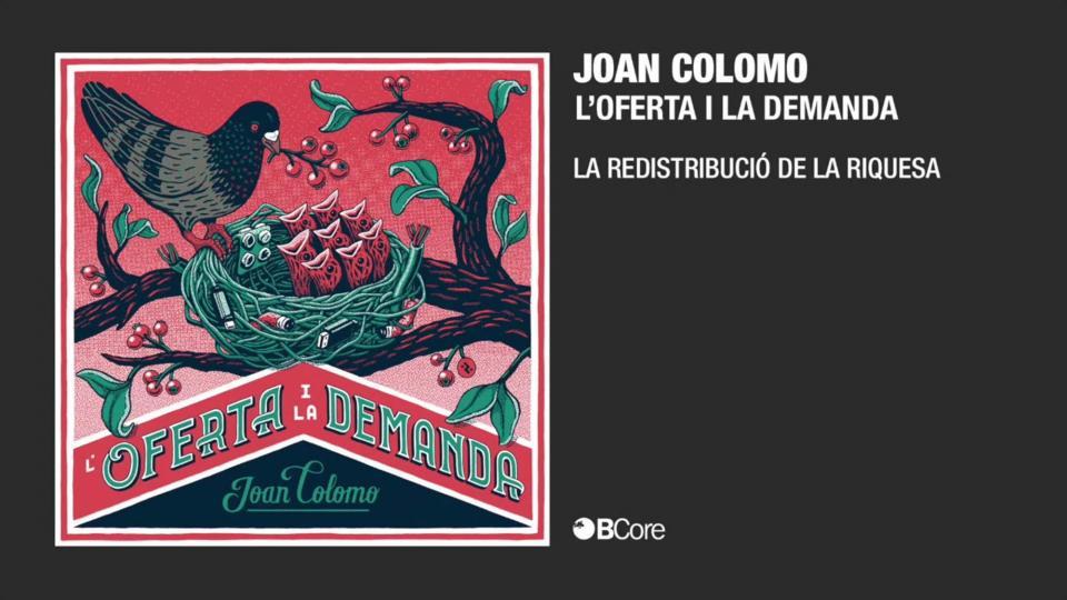 Joan Colomo últim disc 'L'oferta i la demanda'