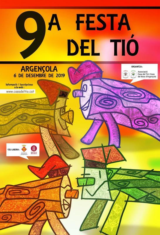 cartell 9a Festa del Tió d'Argençola